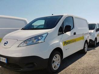 Nissan e-NV200, ecco la flotta commerciale elettrica di Poste Italiane