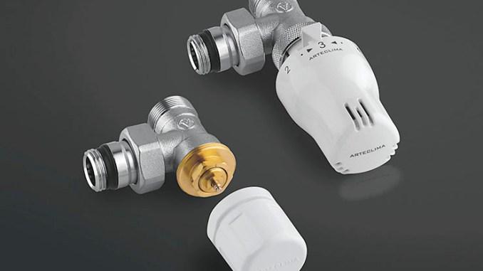 Nuove valvole termostatizzabili con preregolazione Arteclima