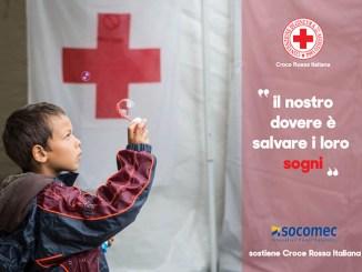Socomec supporta la Croce Rossa a favore dei terremotati