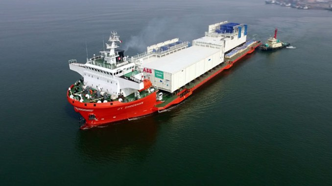 ABB fornisce le E-House per l'impianto Satah al-Razboot
