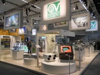 La ventilazione Vortice all'ISH di Francoforte