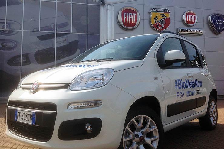 Fiat Panda, un test da 80mila Km con biometano da ciclo idrico