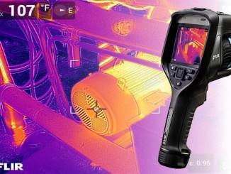 FLIR Exx, tre nuove termocamere avanzate per ispezioni
