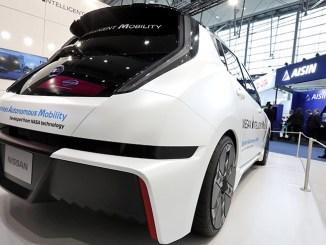 Nissan al CeBIT e la guida autonoma basata sulla tecnologia NASA
