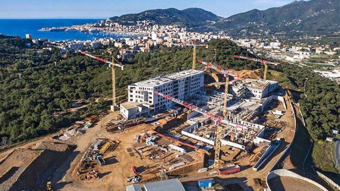 Unità refrigeranti Climaveneta per il nuovo ospedale di Ajaccio