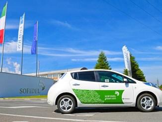 Nissan e Sofidel, lo sviluppo della mobilità sostenibile