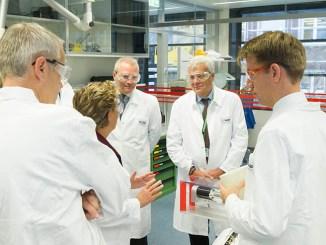 Il Ministro dell'Ambiente visita la sede del Gruppo BASF