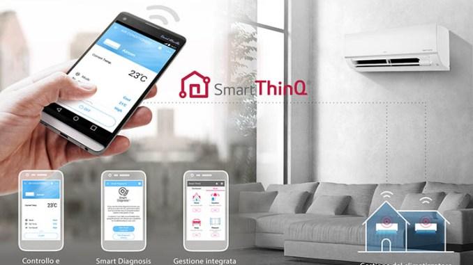 LG Smart ThinQ abilita il controllo intelligente della temperatura