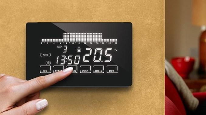 Fantini Cosmi Intellitouch WiFi, il cronotermostato smart
