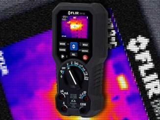 FLIR DM166, il multimetro TRMS con immagine termica