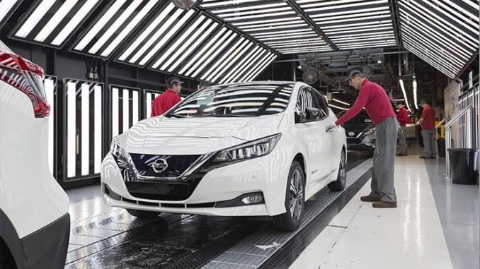 Nissan LEAF, al via la produzione in Europa