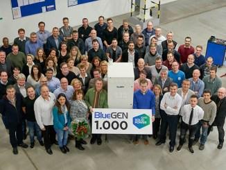 Cogenerazione, Solidpower produce il millesimo Bluegen