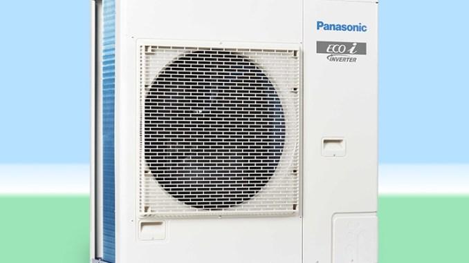 Panasonic Mini VRF, per edifici con spazio esterno limitato
