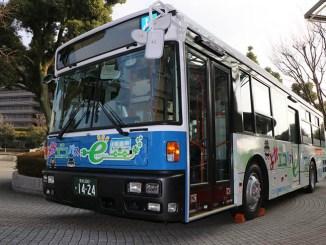 Giappone, primi test sui bus elettrici con tecnologia Nissan