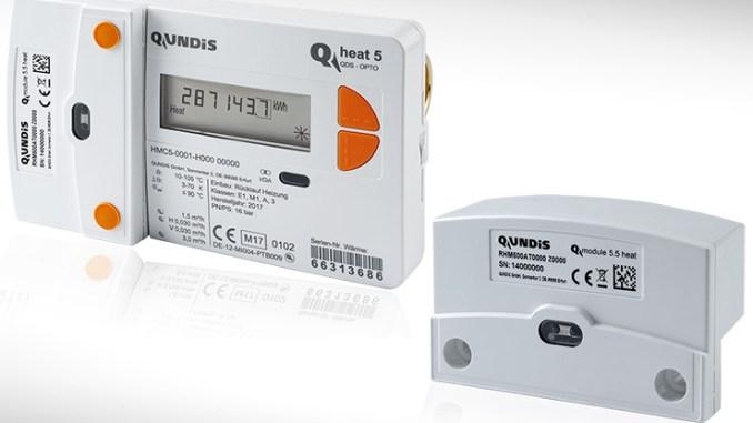 Qundis Q module 5.5 heat, lettura remota e portata potenziata
