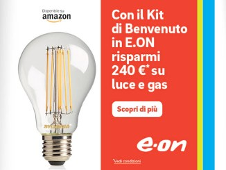 E.ON e Amazon, arriva il Kit di benvenuto