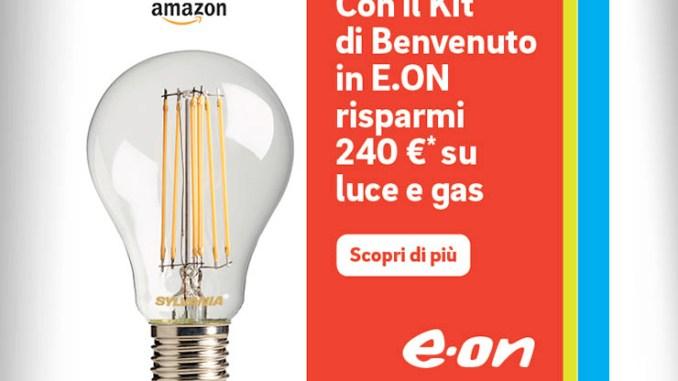 E.ON e Amazon, arriva il Kit di benvenuto
