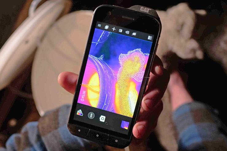 I vantaggi di CAT S60 e S61 con termocamera FLIR Lepton