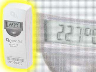 Qundis Q temp, il sensore climatico per interni ed esterni