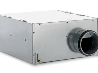 Vortice CA IN-LINE, aspiratori centrifughi da condotto