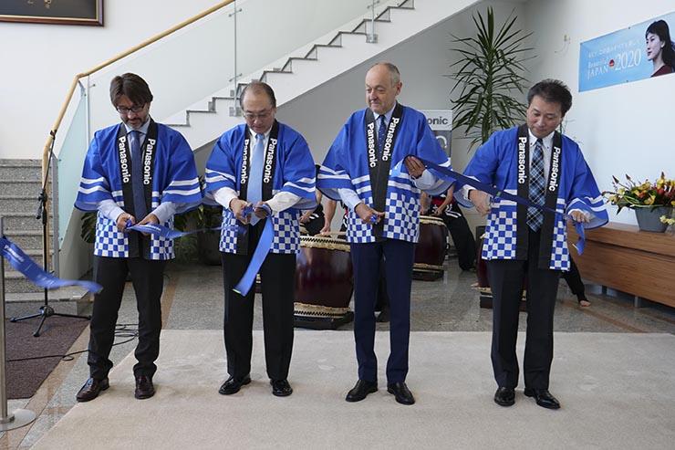 Panasonic inaugura lo stabilimento produttivo di Pilsen