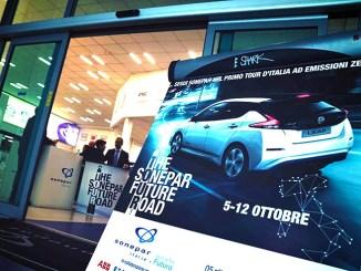 "Nissan LEAF protagonista del tour ""The Sonepar Future Road"""