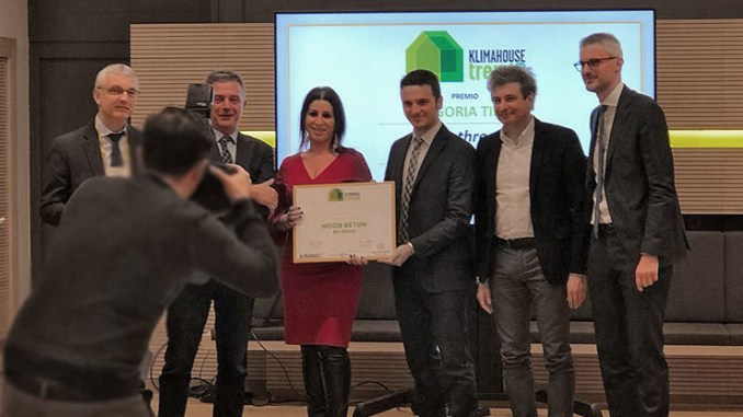 Categoria Timely, Wood Beton vince Klimahouse Trend 2019
