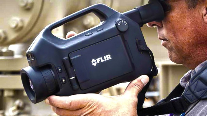 FLIR GF620, termocamera per ispezioni di impianti petroliferi