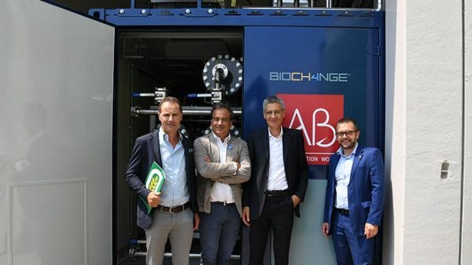 Biometano da biogas con AB BIOCH4NGE