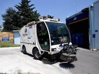 Gruppo CAP riduce i consumi d'acqua per la pulizia stradale
