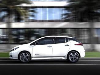La Nissan LEAF e+ con batteria da 62 kWh debutta ufficialmente e ha partecipato alla gara di regolarità per auto elettriche e ibride, la 1000 Miglia Green.