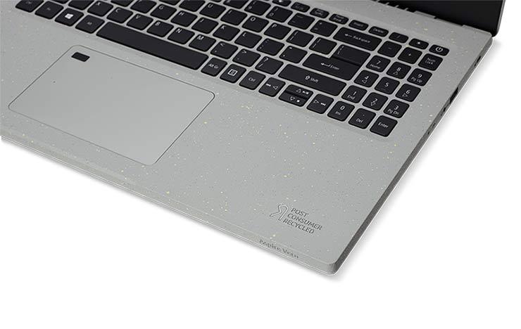 notebook eco-sostenibile