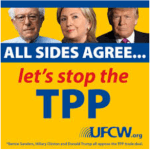 PIC Pres Candidates say no to TPP