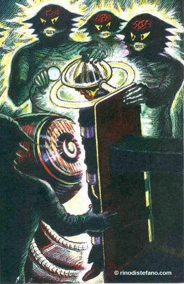 Zanfretta under aliens' examination