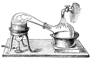 Distillation by Retort