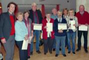 CDU Deckbergen-Steinbergen ehrt zahlreiche Jubilare