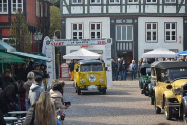 Kaltstart: Aprilwetter und Kälte bei 20. Rintelner Oldtimer Weserberglandfahrt