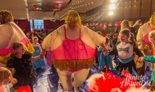 09 rintelnaktuell rcv carnevalsverein kinderkarneval 2017 konfetti schminken party
