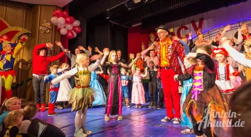 16 rintelnaktuell rcv carnevalsverein kinderkarneval 2017 konfetti schminken party
