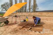 Archäologe findet Reste von Scheiterhaufengrab in Kohlenstädt