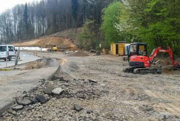 Der Schotter muss weg, die Gabionen kommen: Neues von der Baustelle Steinbergen