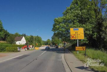 """Steinbergen: L442 zwischen B83 und Parkplatz """"Steinzeichen"""" ab Montag voll gesperrt"""