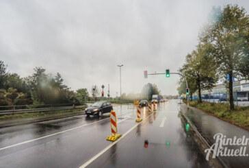 Neu: Von Engern durch den JET-Kreisel auf die B238 nach Möllenbeck