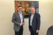 Region fit für die Zukunft: Landtagsabgeordneter Dirk Adomat zu Besuch in Rinteln