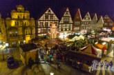 Rintelner Adventszauber: Weihnachtsmarkt vom 1. – 29.12. in historischer Altstadt