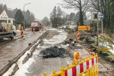 """Baustelle Steinbergen: """"Maroder Kanal"""" oder undichte Muffen?"""