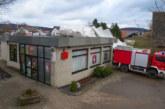 """Sparkassen-Dach in Eisbergen zerstört: """"Friederike"""" sorgt für zahlreiche Einsätze der Feuerwehr Porta"""