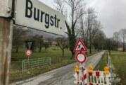 Schaumburg: Vollsperrung der Burgstraße