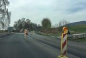 Westendorf: B83 in Richtung Steinbergen heute asphaltiert