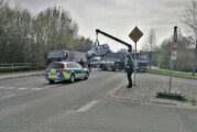 Zwei Verletzte bei Unfall auf der Konrad-Adenauer-Straße